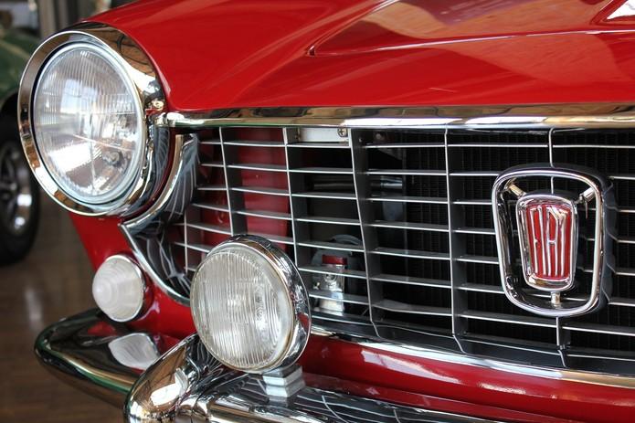 Classic Red Fiat