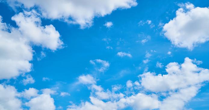 Cloudy Summer Sky