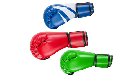 Coloured Boxing Gloves