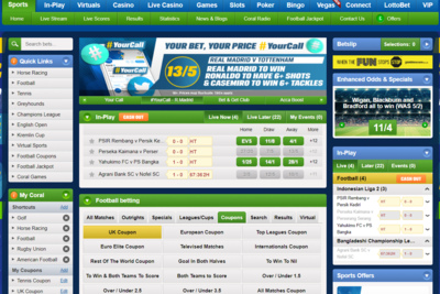 Coral betting offers betting armada