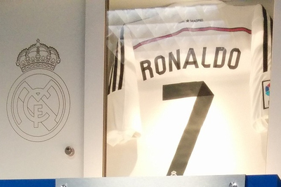 Cristiano Ronaldo Real Madrid Shirt
