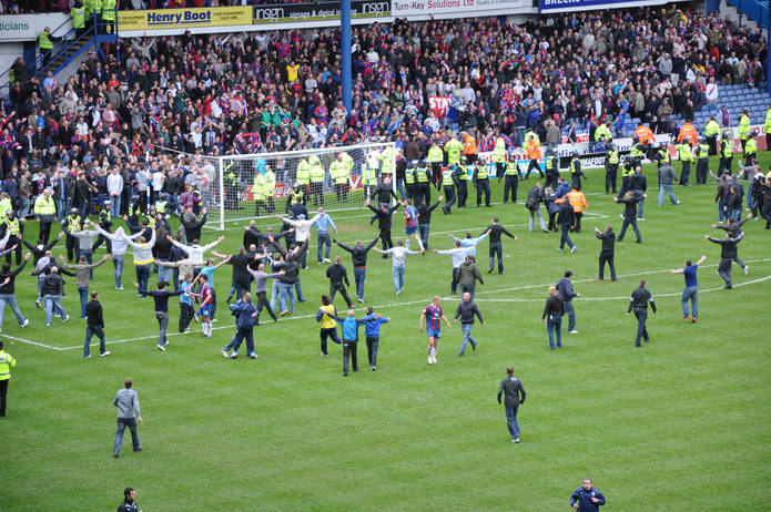 Crystal Palace versus Sheffield Wednesday in 2010