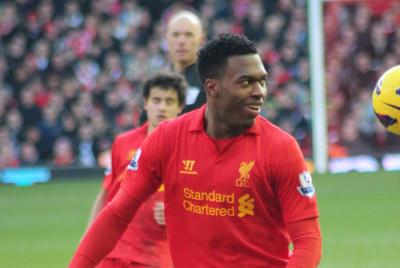 Footballer Daniel Sturridge