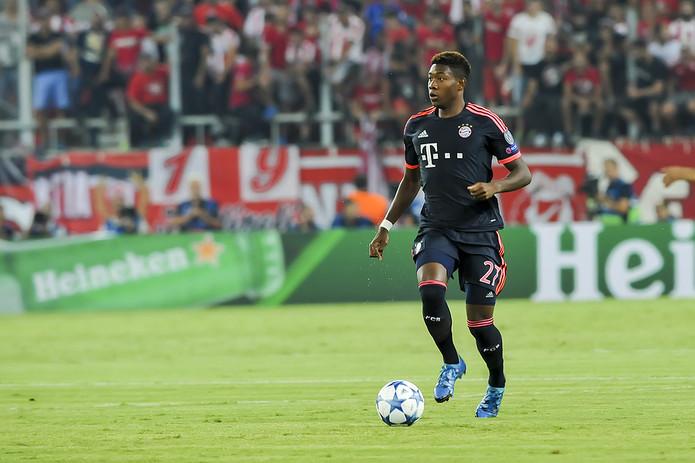 David Alaba Playing For Bayern Munich
