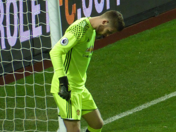 David de Gea in Goal for Manchester United
