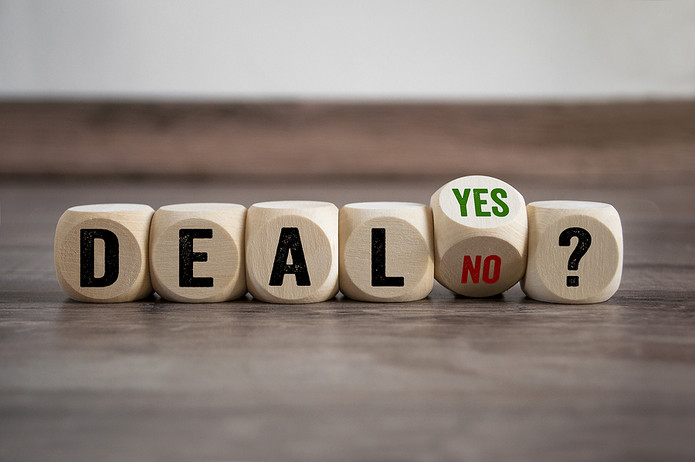 Deal Yes or No? Wooden Cubes