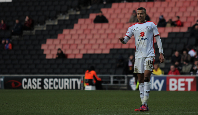Dele Alli Playing for MK Dons