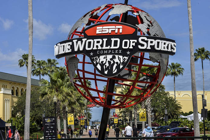 Disney ESPN Wide World of Sports Sculpture