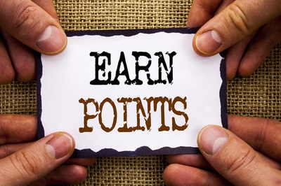 Earn Points Card