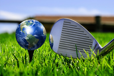 Earth as a Golf Ball