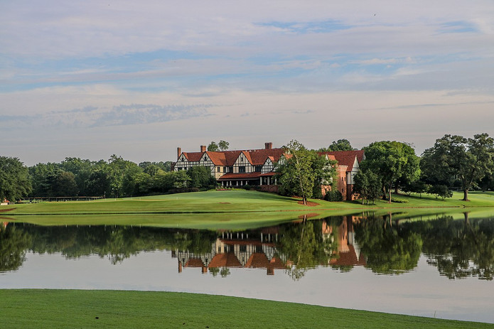 East Lake Golf Course Clubhouse in Atlanta USA