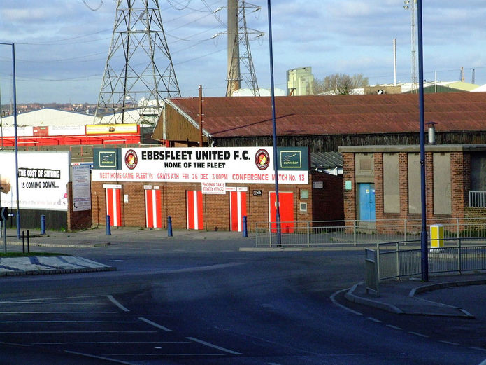 Ebbsfleet United Football Stadium