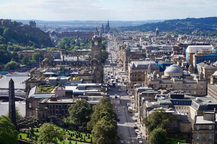 Edinburgh Princess Street