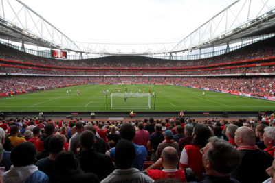 Emirates Stadium During Arsenal Home Match