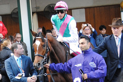 Enable with Frankie Dettori and John Gosden