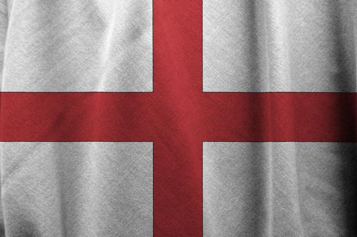 England Fabric Flag