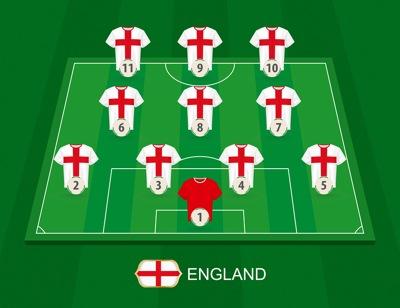 England Team No Names