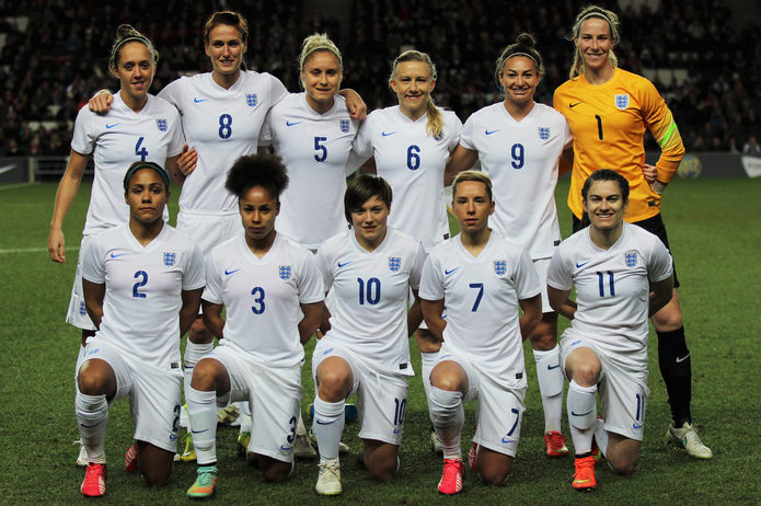 England Women's Team Lineup 2015