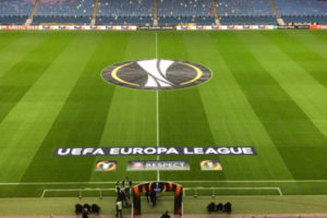 Europa League Pitch Display