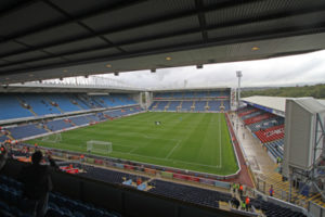 Blackburn Rovers' Ewood Park Football Ground