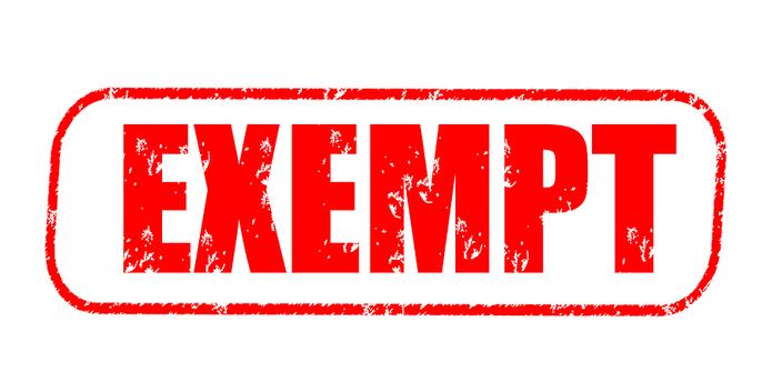 Exempt Stamp