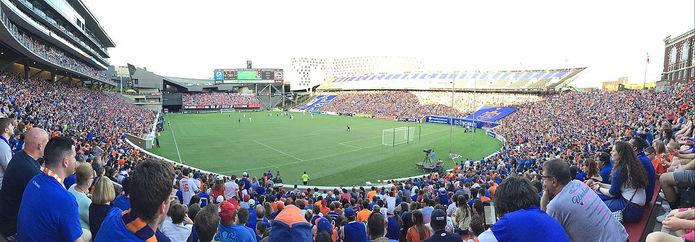 FC Cincinnati at the Nippert Stadium