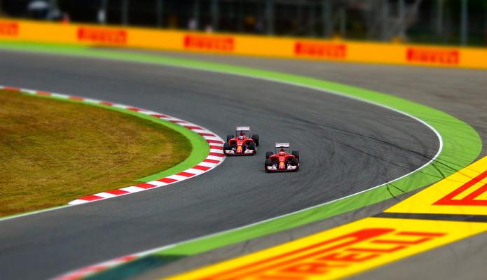 Ferrari F1 Cars Racing