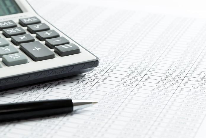 Finance Sheet with Calculator