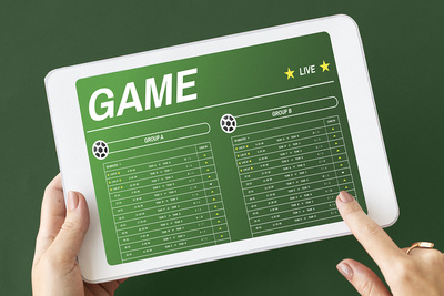 Football Betting Tablet
