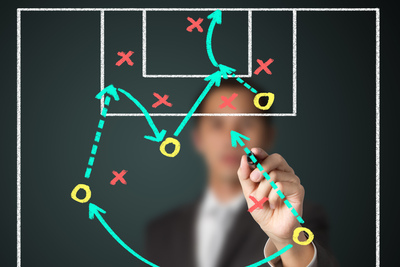 Coach Planning Football Tactics