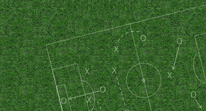 Football Tactics on Grass