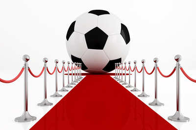 Football on Red Carpet