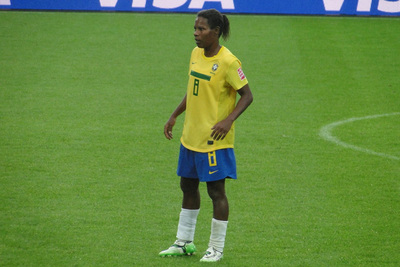 Brazilian Footballer Formiga