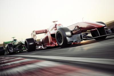 Formula 1 Cars Racing