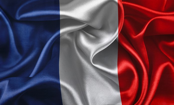 French Flag Crumpled