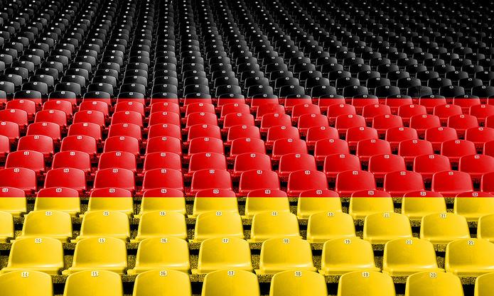 Germany Flag Stadium Seats
