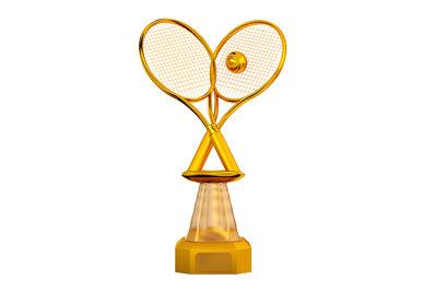Golden Tennis Trophy