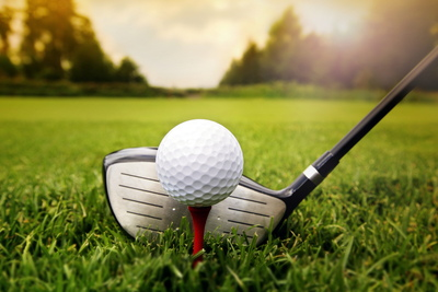 Golf Driver and Ball