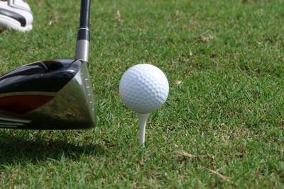 Golf Ball, Tee and Driver