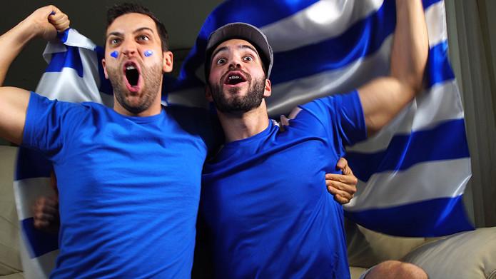Greek Football Fans