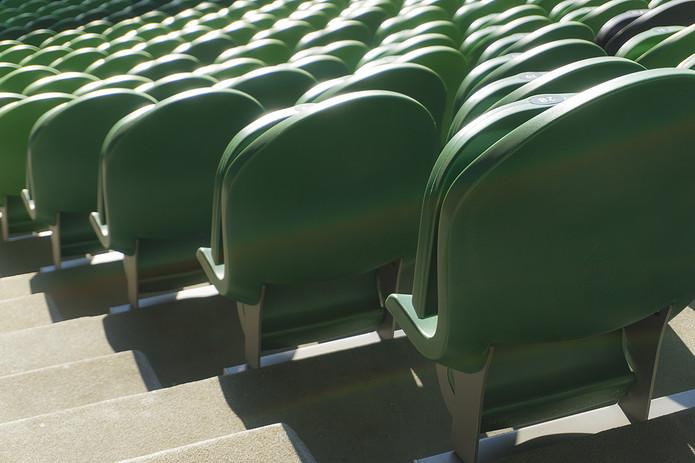 Green Stadium Seats in Sunshine