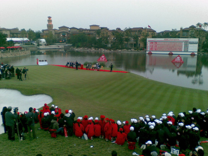 HSBC Champions Golf at Seshan Golf Club