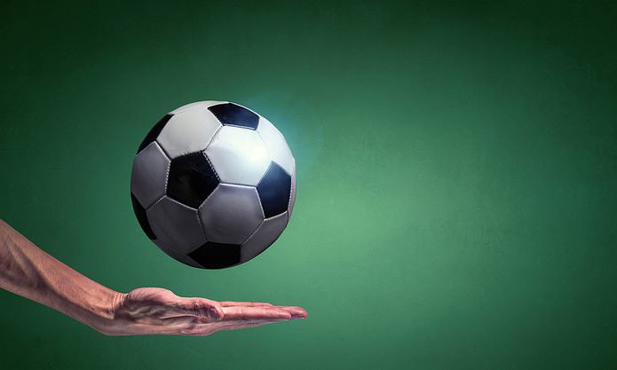 Hand And Football
