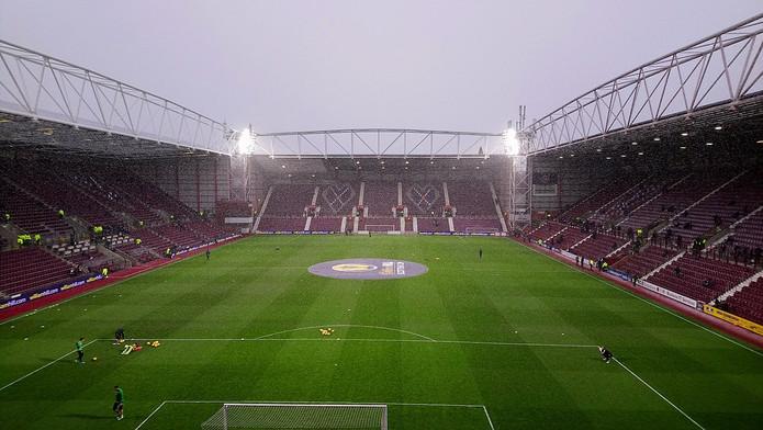 Hearts Tynecastle Park