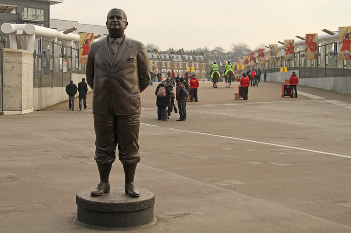 Herbert Chapman Statue at Arsenal's Emirates Stadium