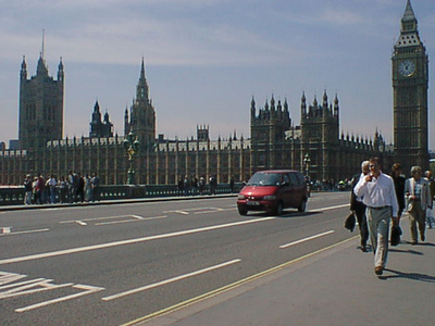 Houses of Parliament in 2001