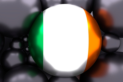 Ireland Flag 3D Sphere