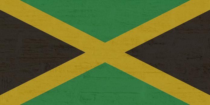 Jamaica Flag Wood Effect