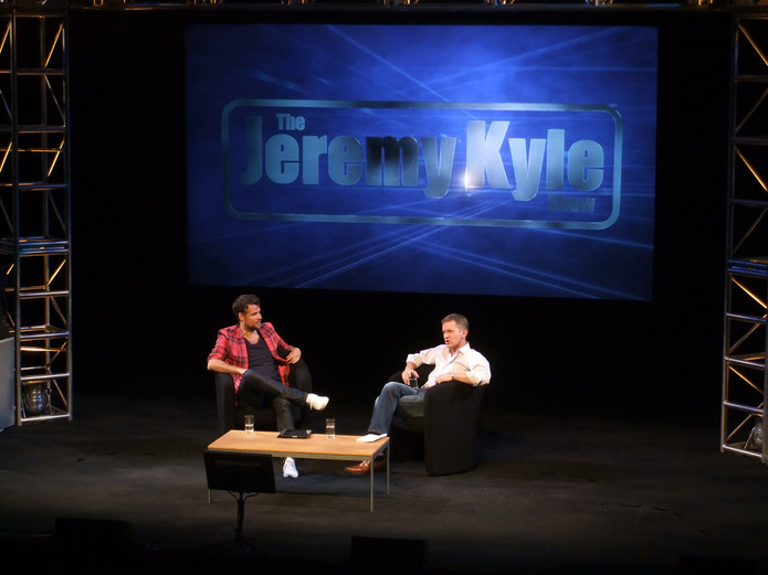 Jeremy Kyle with Richard Bacon