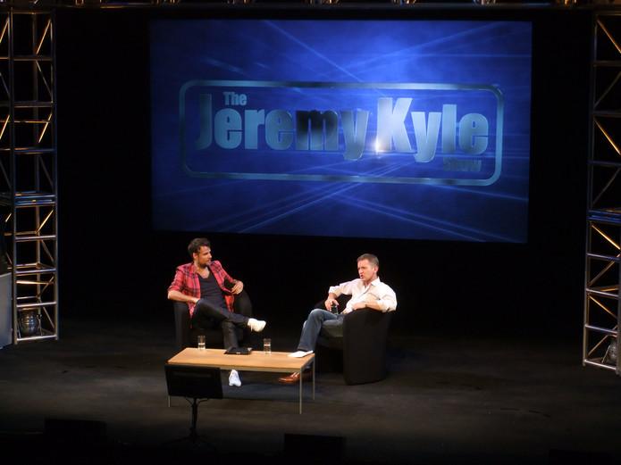Jeremy Kyle with Richard Bacon